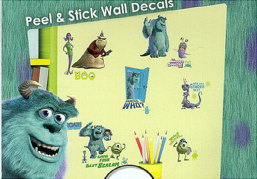 Monsters Inc Wall Stickers 31 Decals Disney Pixar Sulley
