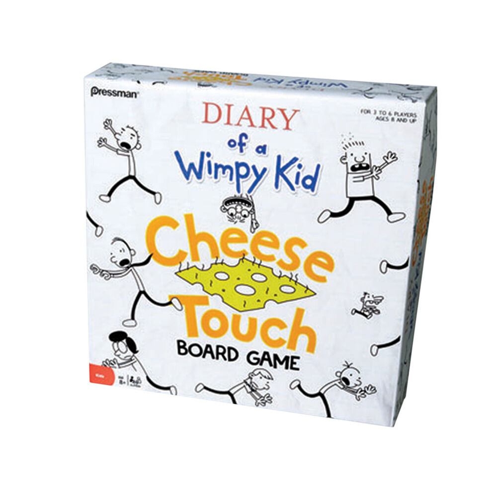 Diary of a Wimpy Kid: Cheese Touch | Board Game ...