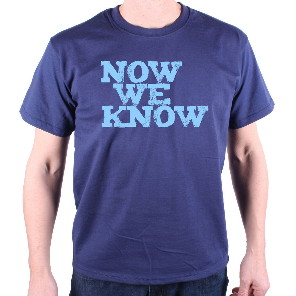Details about Inspired by Mitchell   Webb T Shirt - Now We Know Classic TV  Comedy Peep Show f058d4a70ea