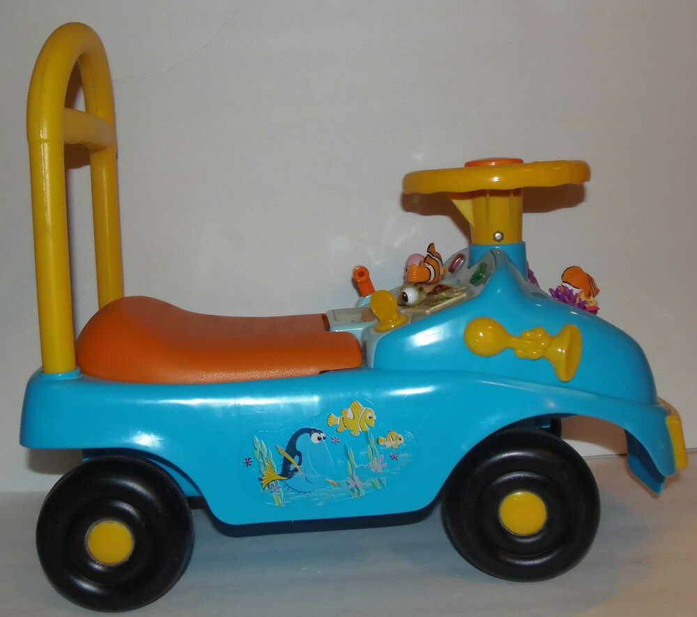 Finding Nemo Toys : Disney finding nemo rare ride on car toy musical features