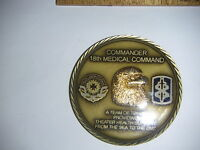 New 18th Medical Command Challenge Coin - Free Shipping