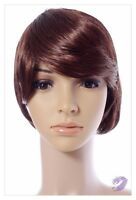 Bob Style Medium Ladies Wig Black Brown Blonde Faceframe Lady Wigs UK Shipping