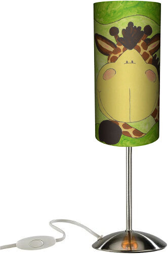 055 kinder lampe giraffe total s tischlampe stehlampe leuchte baby ebay. Black Bedroom Furniture Sets. Home Design Ideas