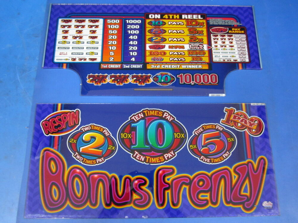 Bonus Frenzy Slot Machine