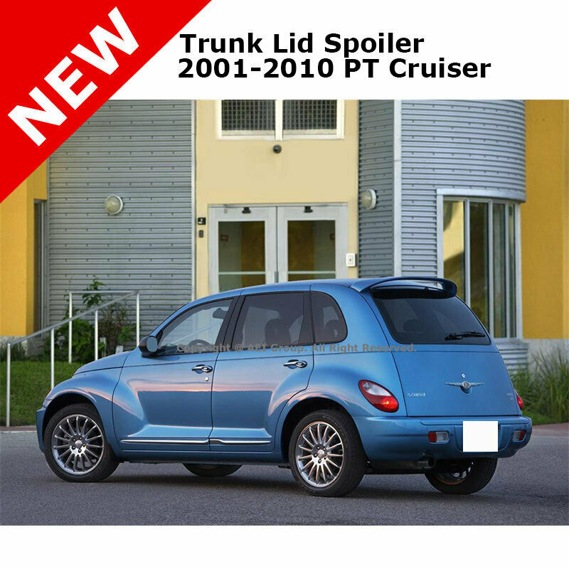 Details About Pt Cruiser Wagon 01 10 Trunk Roof Spoiler Rear Painted Electric Blue Pearl Pb5