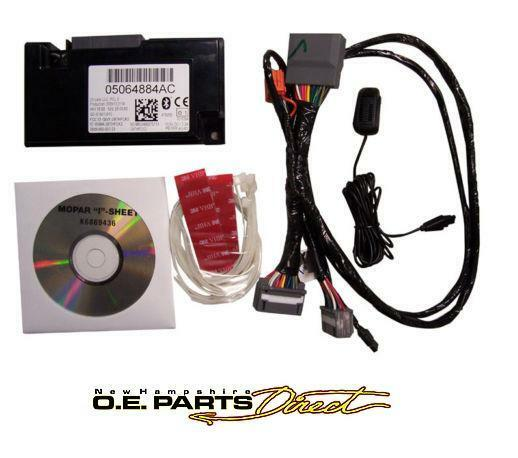 Chrysler / Dodge / Jeep 2007-2012 Uconnect Hands Free Bluetooth Kit 82212159 | eBay