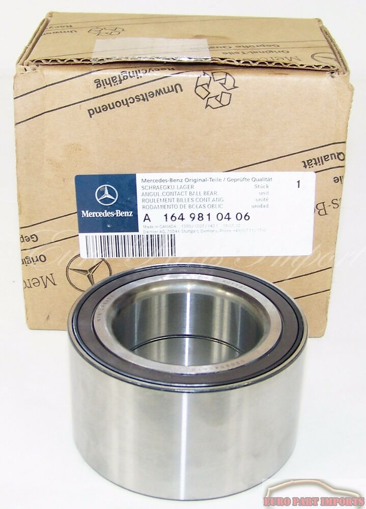 Mercedes benz w164 w251 rear wheel bearing germany genuine for Genuine mercedes benz parts