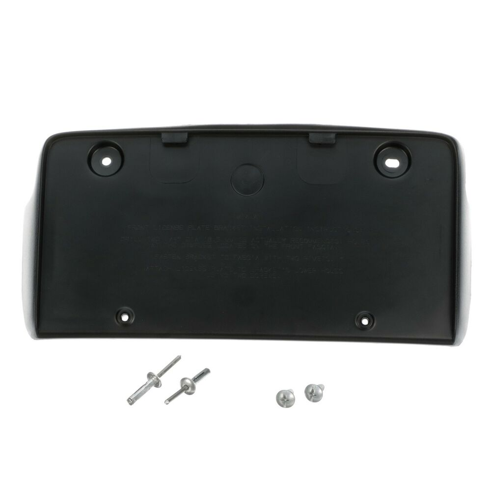 2006-2013 IMPALA FRONT LICENSE PLATE HOLDER MOUNTING BRACKET NEW GM # 10337110