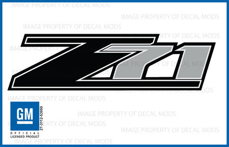 07 - 13 Chevrolet Silverado Z71 decals - FB - 1500 2500 GM ...