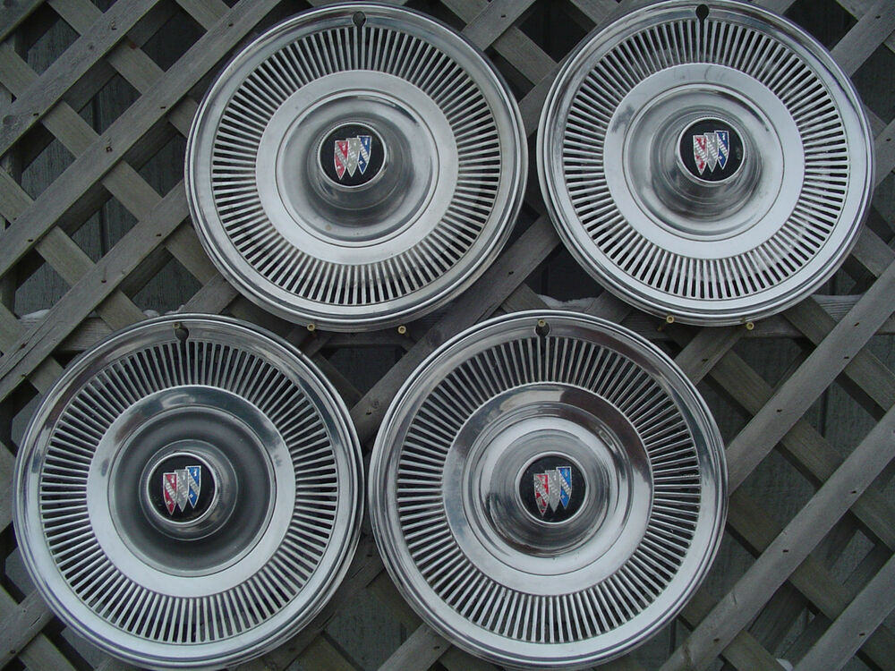 1969 1970 Buick Le Sabre Special Hubcaps Wheel Covers