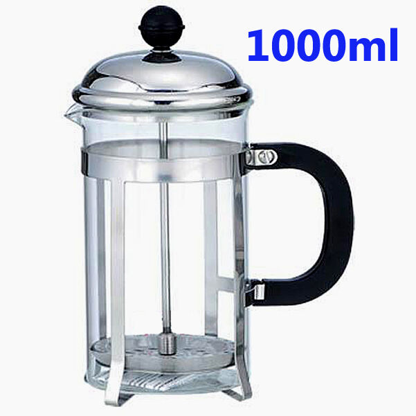 1000ml Coffee Plunger Tea Maker French Press Ebay