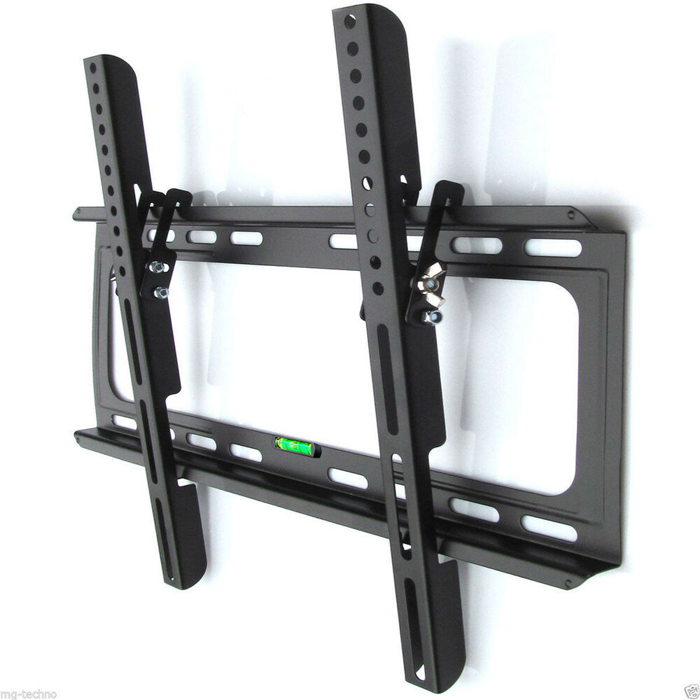 wandhalterung tv monitor bis 55 neigung 15 wandabstand 2 5 cm kabelkanal ebay. Black Bedroom Furniture Sets. Home Design Ideas