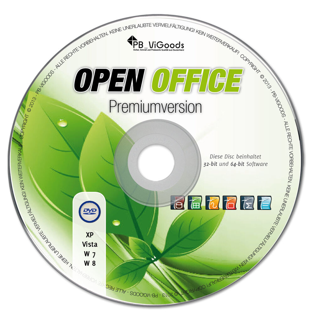 Open office paket 2016 premium f r windows 7 vista xp mac - Open office 64 bit windows 7 download ...