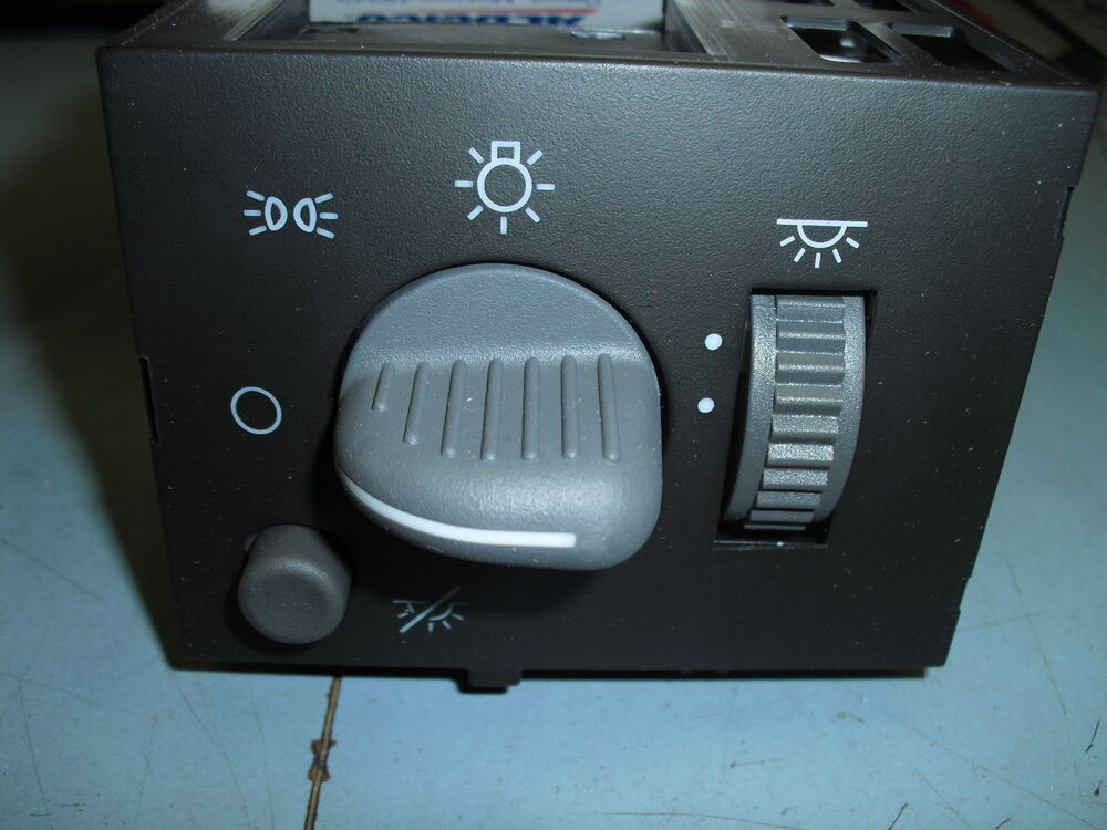 95 00 new tahoe suburban silverado sierra headlight dimmer switch 93443101 ebay. Black Bedroom Furniture Sets. Home Design Ideas