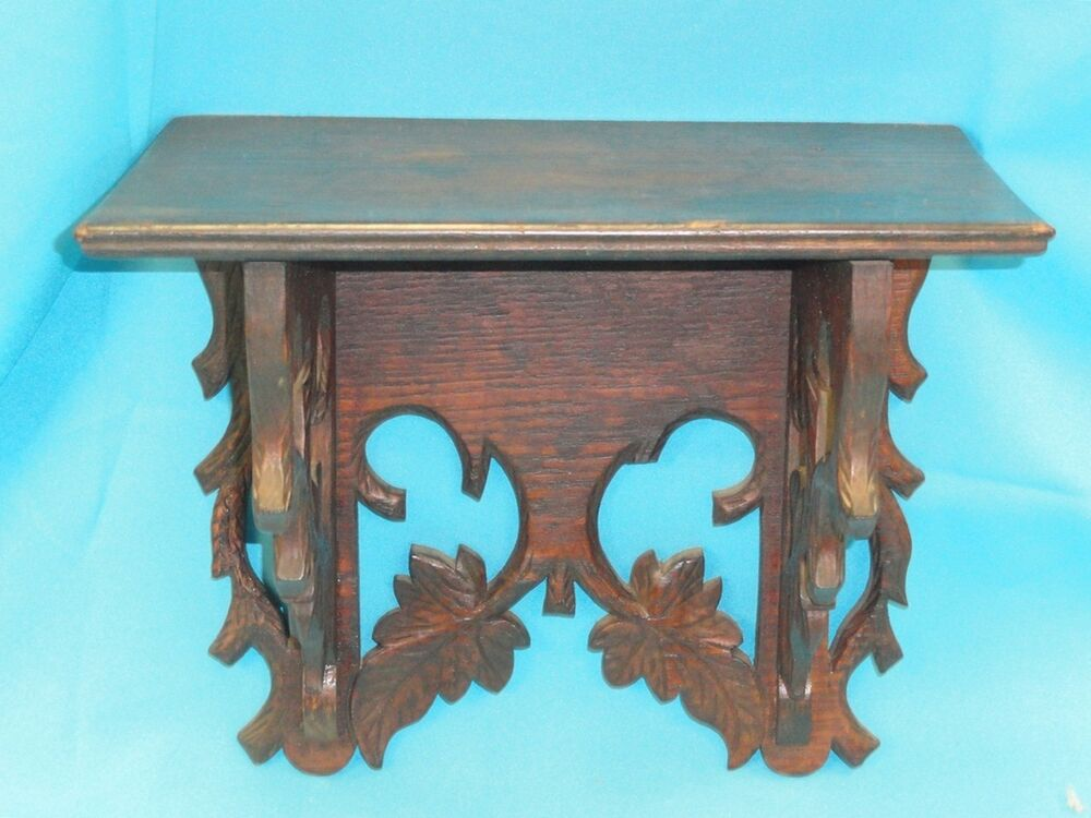 ANTIQUE EARLY-MID 19 CENTURY ELABORATE CARVED OAK WALL