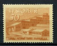 Albania 1963 50L Industrial Buildings MH #A30964