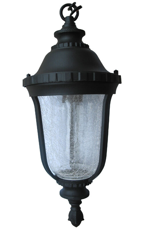 Aluminum Outdoor Exterior Lantern Hanging Lighting Fixture Black Sconce eBay