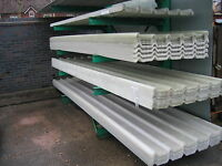 BOX PROFILE GRP FIBREGLASS CLEAR ROOF LIGHTS - ROOFLIGHTS / ROOFING SHEETS