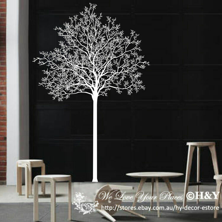 Large Tree Branch Trunk Removable Wall Art Sticker Vinyl