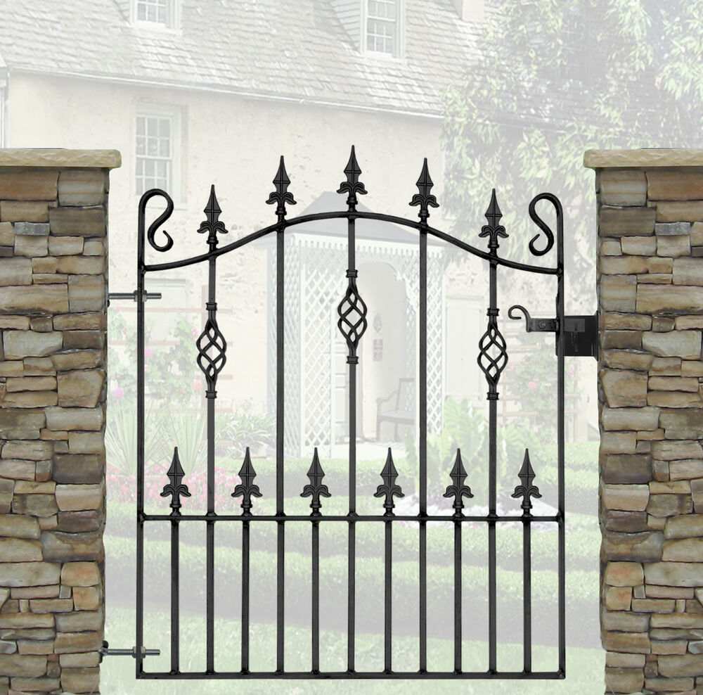 Wrought Iron Gates And Steel Barriers: Wrought Iron Gates -Top Quality-3ft (914mm) Opening
