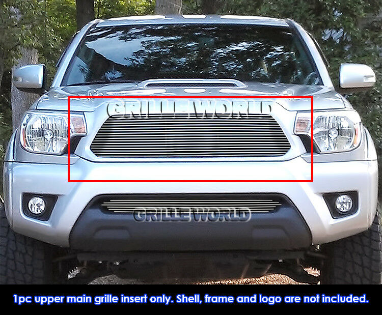 fits 2012 2015 toyota tacoma billet grille insert ebay. Black Bedroom Furniture Sets. Home Design Ideas