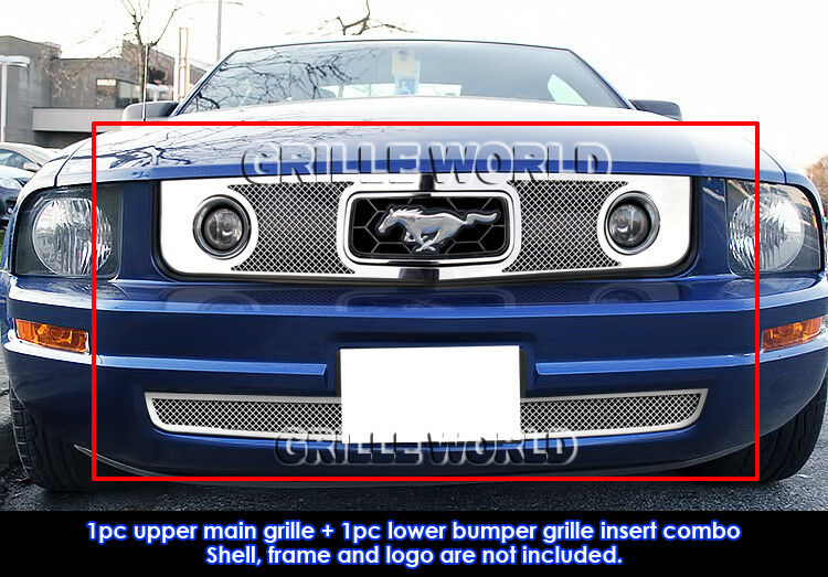 Fits 2005 2009 Ford Mustang V6 Pony Package Stainless