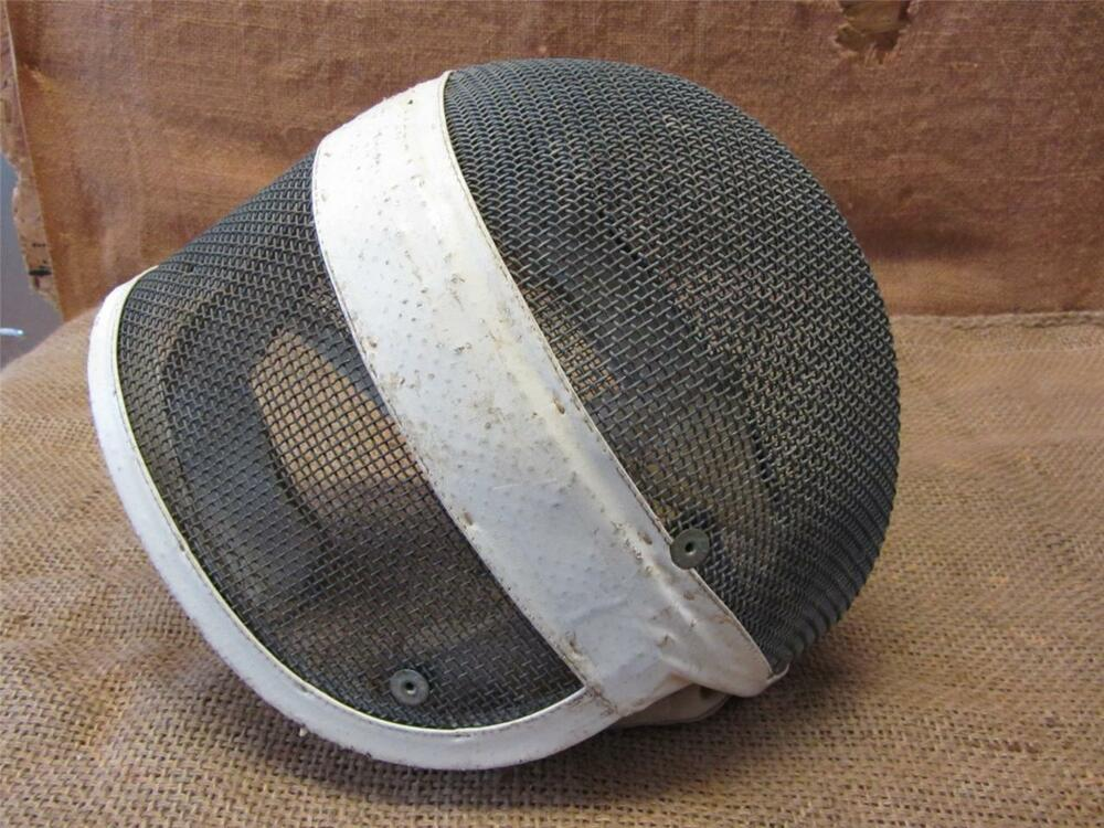 Vintage Santelli Fencing Mask French Antique Foil Epee