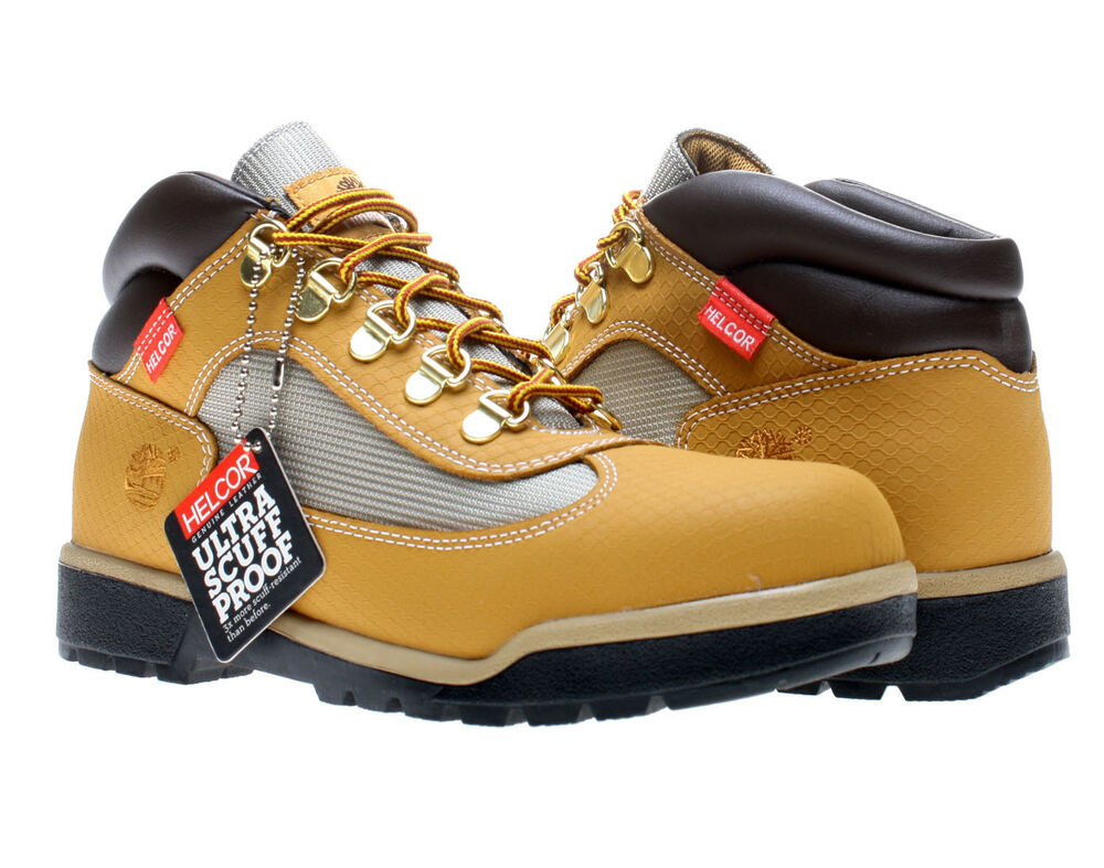 Timberland Helcor Field Wheat Mens Boots 6411r Ebay