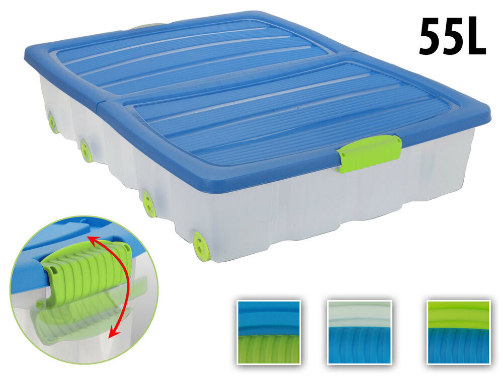 Underbed Storage Containers With Wheels Listitdallas