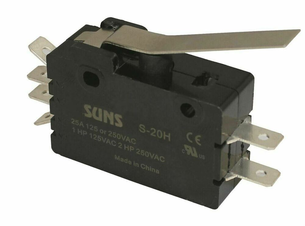 wiring a switch and plug suns s-20h hinge lever snap action 20a micro switch e20 ... #8