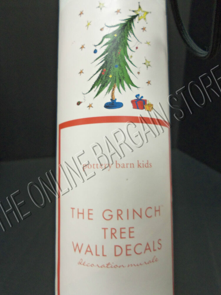 ... Kids Christmas Holiday The Grinch Wall Decal Stickers 18 Piece | eBay