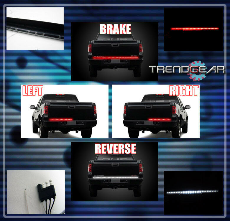 49 u0026quot  universal led tail gate third brake  reverse  turn