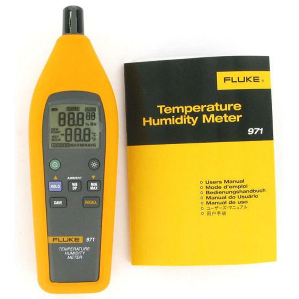Moisture Probe For Fluke Multimeter : Fluke temperature humidity meter ebay