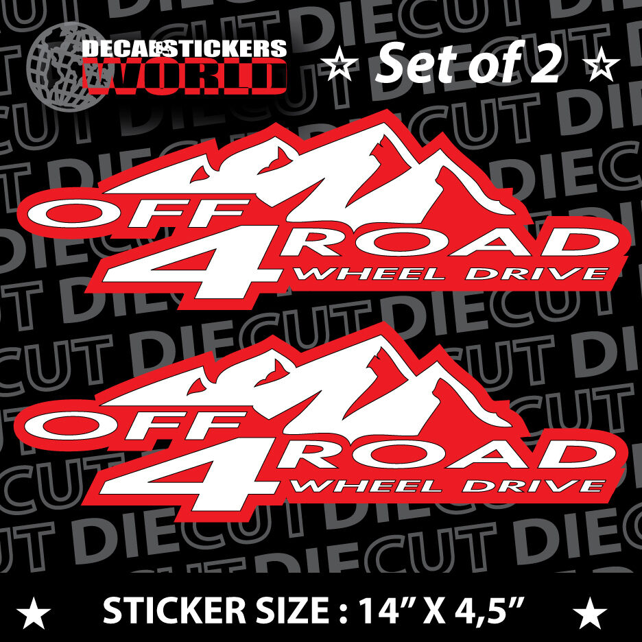 *NEW* 4X4 SPORT OFFROAD DECAL STICKER ZR2 FX2 SONOMA