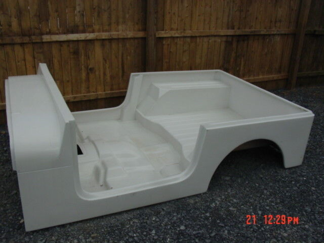Jeep Cj7 Parts >> 76-86 Jeep CJ7 Fiberglass body tub CJ 7 wrangler replacement kit | eBay