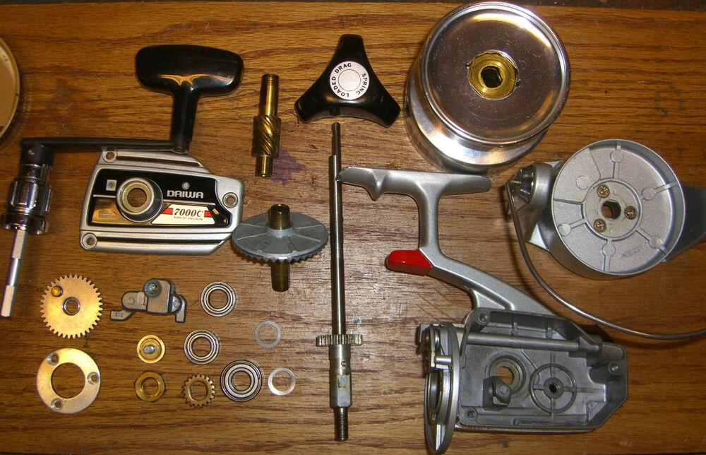 SPRING CLEANING! DAIWA 7000C,4000C and 2600C! CLEANING and ...