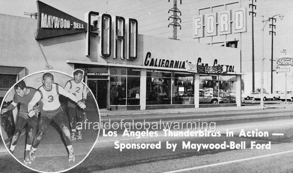Photo 1961 Bell California Maywood Bell Ford Auto