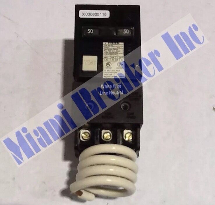 murray mp250gf circuit breaker 50 amp new in box ebay