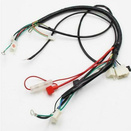 Rebuild Motorcycle Wiring Harness : Honda motorcycle atv enduro bike wire wiring harness