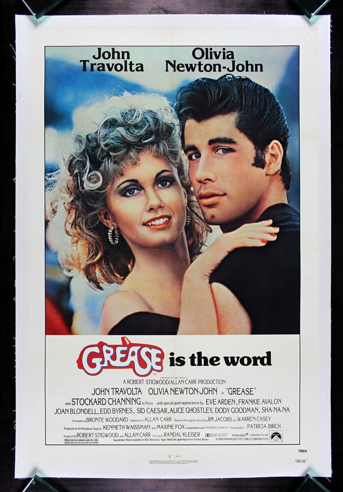 GREASE * CineMasterpieces 1SH ORIGINAL VINTAGE MOVIE ...