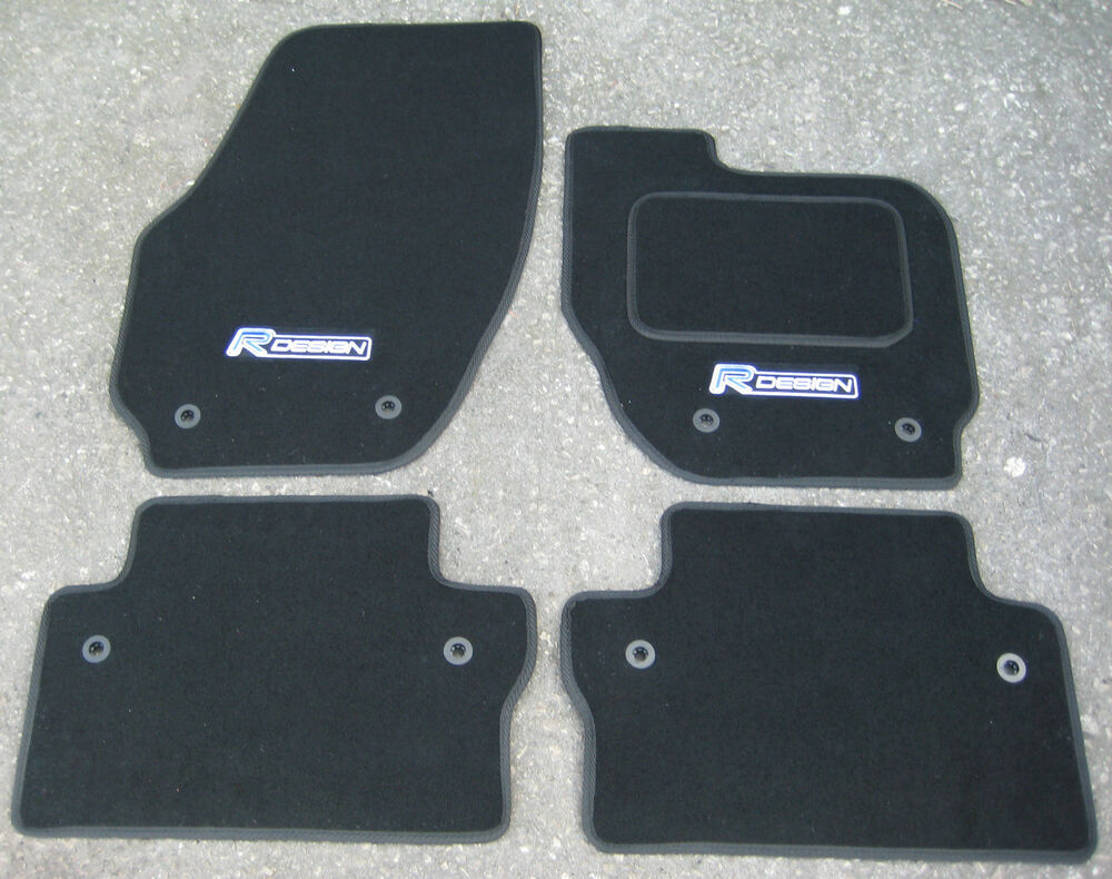 Car Mats In Black To Fit Volvo V70 Xc70 2007 On Quot R