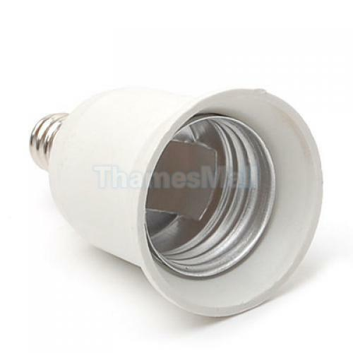 E12 To E27 Light Bulb Lamp Socket Enlarger Adapter Candelabra To Standard Base Ebay