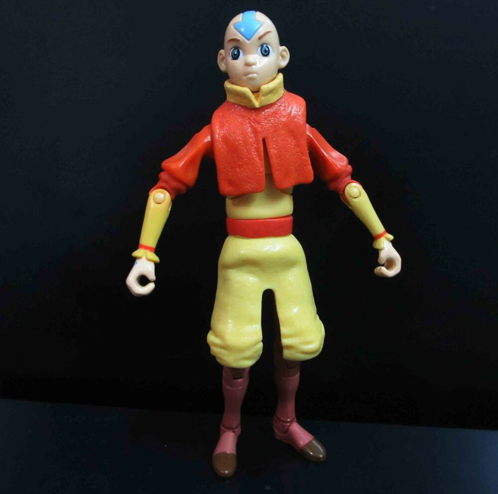 """Avatar 2 Toys: Avatar The Last Airbender Aang Action Figure 6"""" As Pic"""
