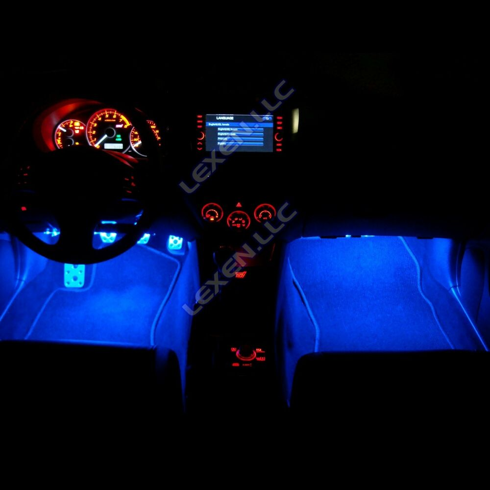 Led B3 Blue 2x 12 Quot Interior Strip Footwell Lights Under