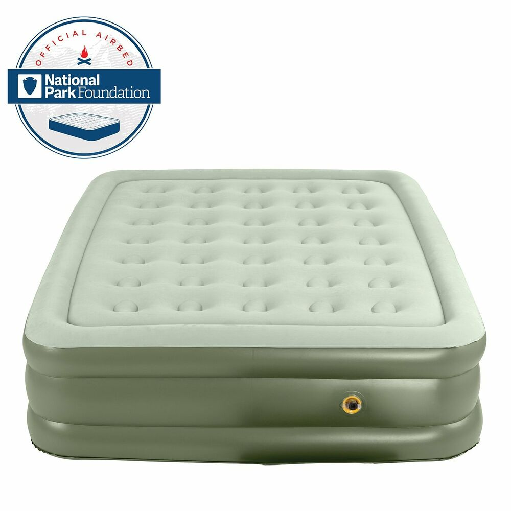 NEW Coleman Double High Quickbed TWIN Inflatable Airbed
