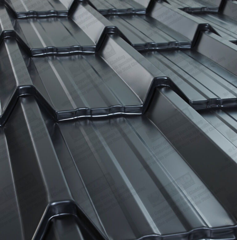 Tile Effect Roofing Sheets In Manchester Slate Grey