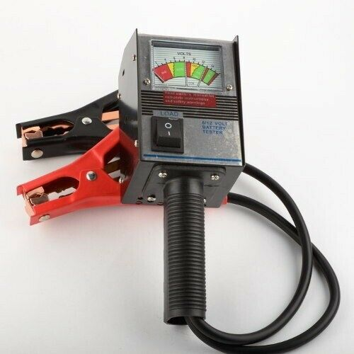 Auto Battery Tester Product : Pro v auto battery load charger alernator regulator