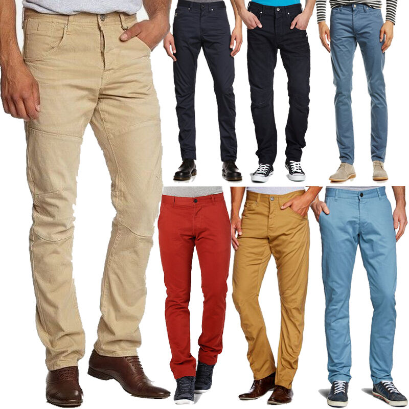 How long should chinos or khakis be?