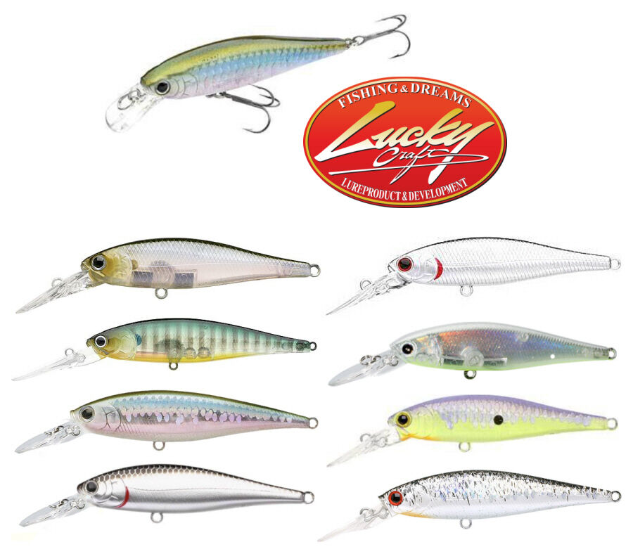 Lucky craft pointer 65dd deep diver jerkbait select colors for Lucky craft pointer 65