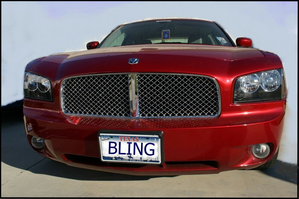 06 2010 Dodge Charger Chrome Mesh Bentley Grille Grill Ebay